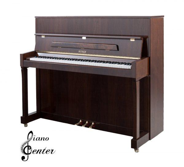 پیانو آکوستیک PETROF P 122 N2 High Polish Walnut