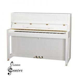 پیانو آکوستیک FEURICH 115 – PREMIERE White Polished - Brass