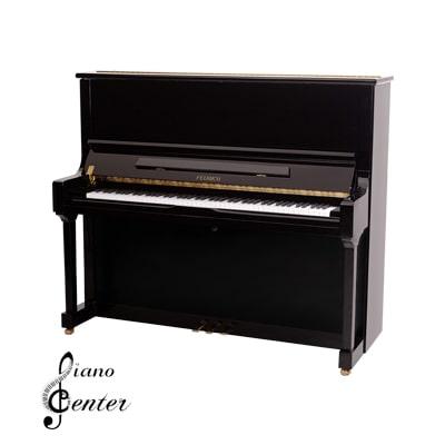 پیانو آکوستیک FEURICH 133 – CONCERT Black Polished - Brass