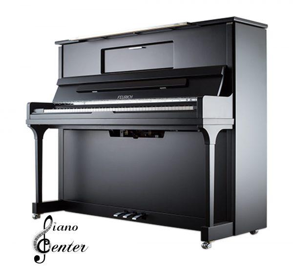 پیانو آکوستیک FEURICH 123 – VIENNA Satin Black