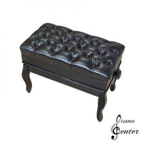 صندلی پیانو پر لمسه باکس دار مشکی