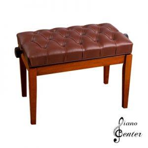 صندلی پیانو لمسه معمولی شکلاتی